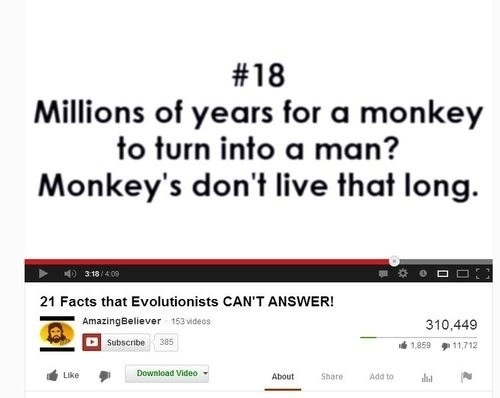 21 Facts that Evolutionists can't answer! Fail