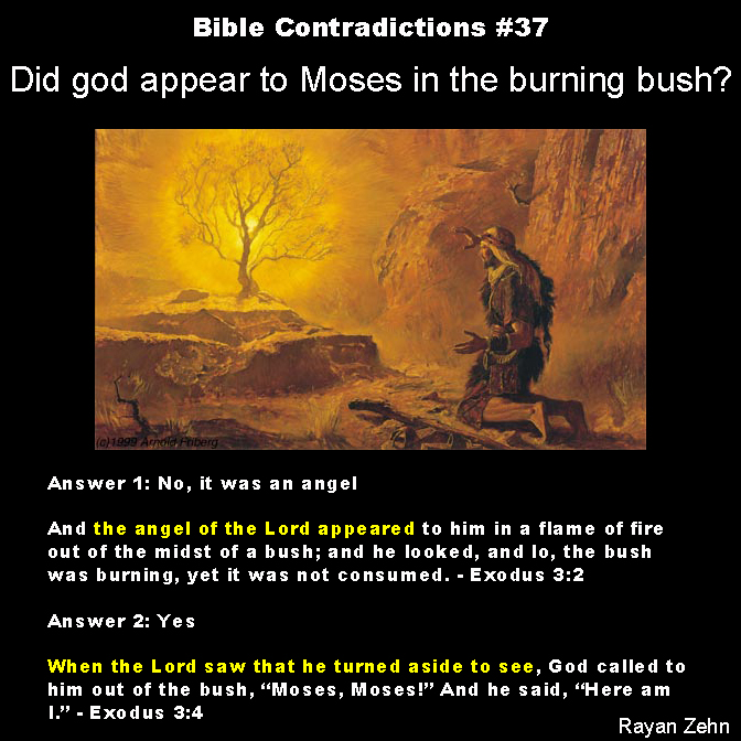 Bible contradictions 37