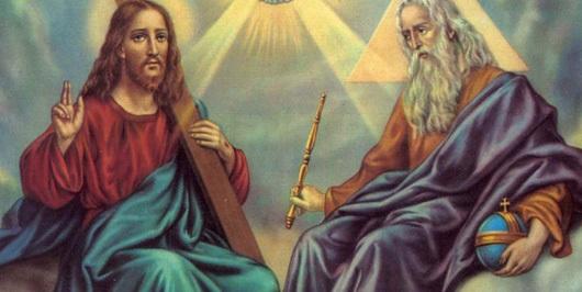 Jesus and God